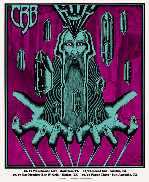 THE CHRIS ROBINSON BROTHERHOOD - Tour 2015 (10/15/15 - 10/18/15) by Alan Forbes