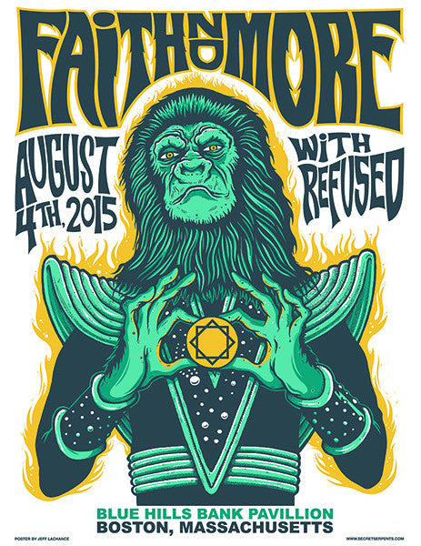 FAITH NO MORE / REFUSED - Boston 2015 by Jeff LaChance