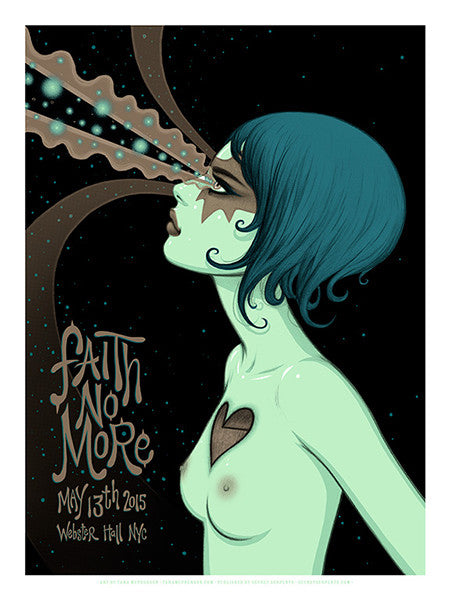 FAITH NO MORE - New York 2015 (night 1) by Tara McPherson - LIMIT 2