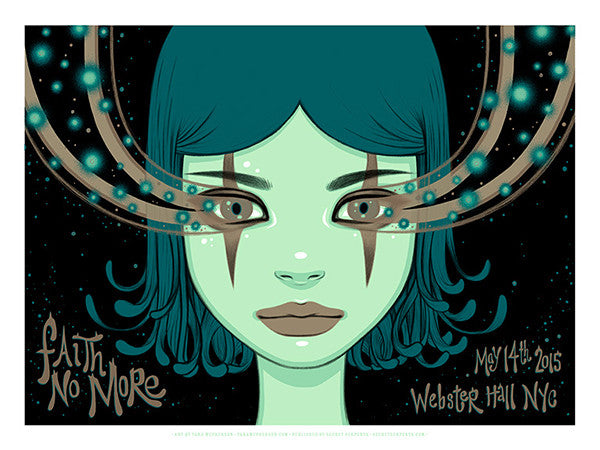 FAITH NO MORE - New York 2015 (night 2) by Tara McPherson - LIMIT 2