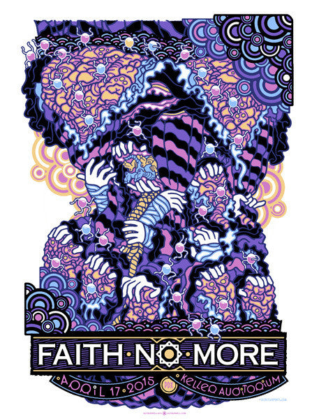 FAITH NO MORE - Portland 2015 by Guy Burwell