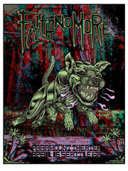 FAITH NO MORE - Seattle 2015 (3D poster w/glasses) by John Howard