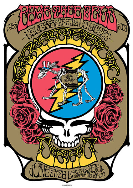 GRATEFUL DEAD - Santa Clara 2015 by Alan Forbes