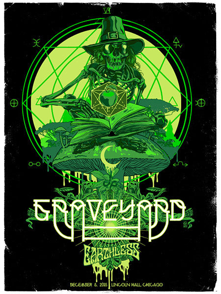 GRAVEYARD / EARTHLESS - Chicago 2015 by Vance Kelly