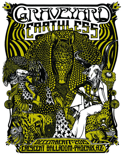 GRAVEYARD / EARTHLESS - Phoenix 2015 by Caitlin Mattisson