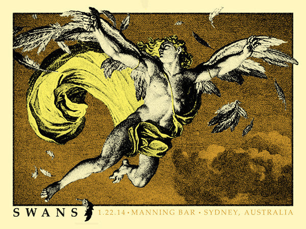 SWANS - Sydney 2015 by Mathias Valdez