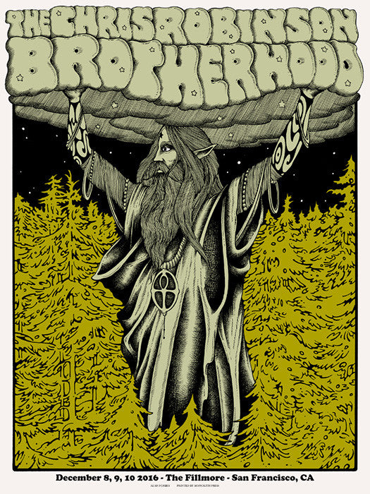 THE CHRIS ROBINSON BROTHERHOOD - San Francisco 2016 by Alan Forbes