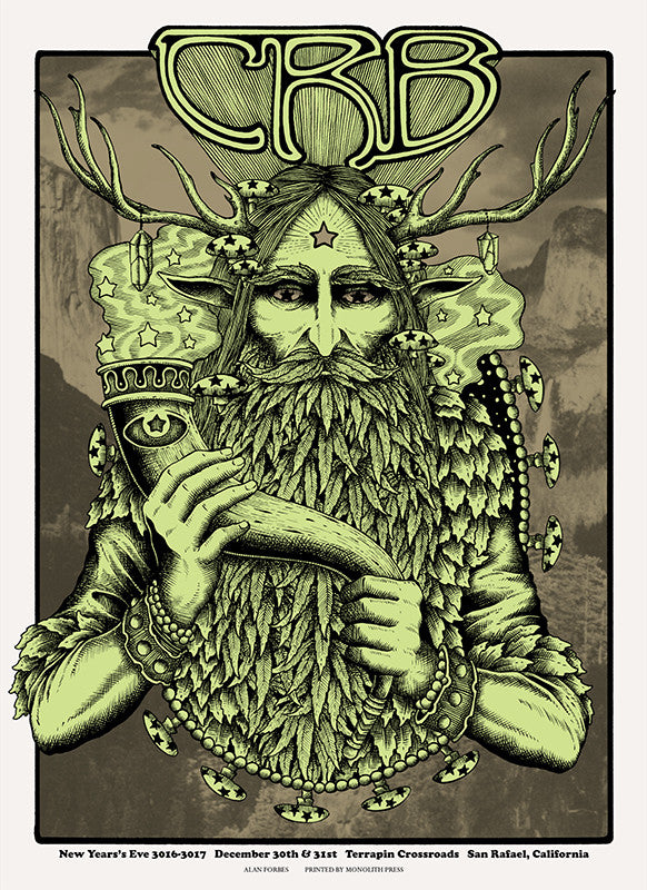 THE CHRIS ROBINSON BROTHERHOOD - San Rafael 2016 by Alan Forbes