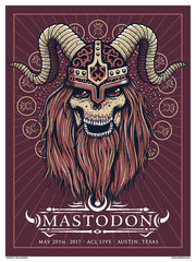 MASTODON - Austin 2017 by Jeff LaChance