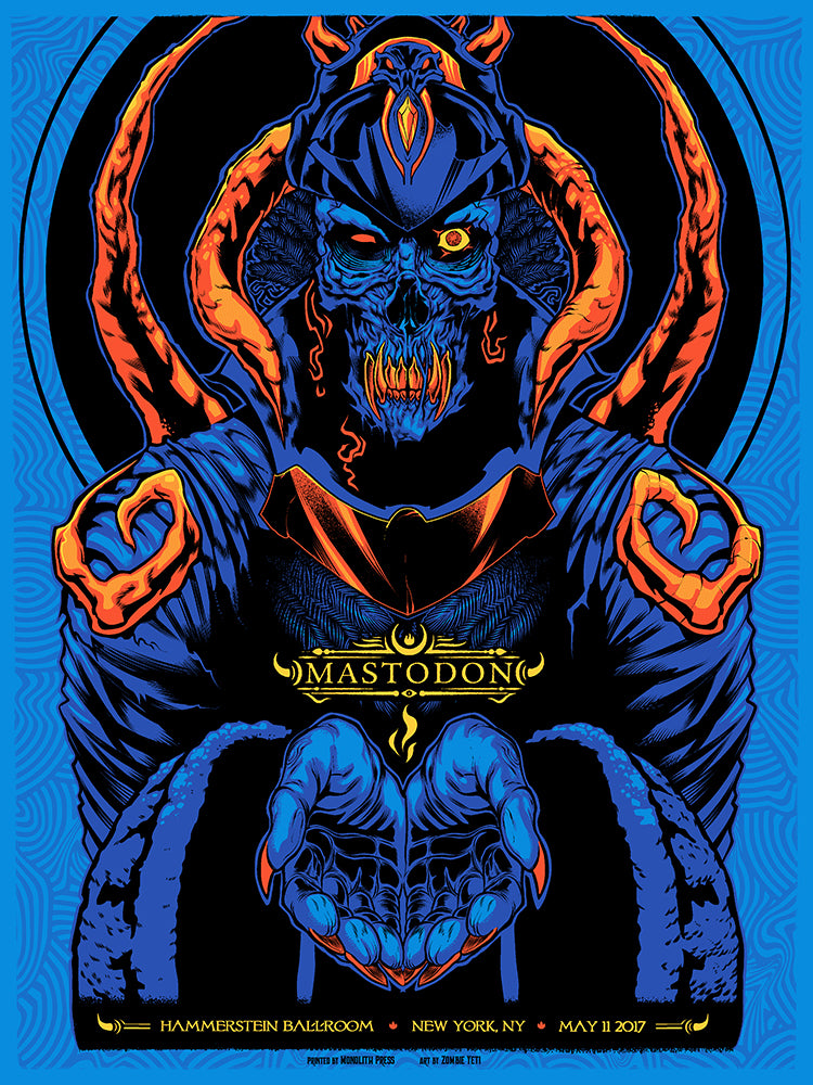 MASTODON - New York 2017 by Zombie Yeti