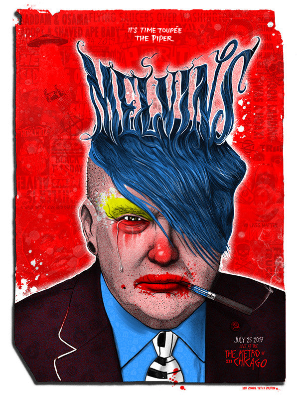 MELVINS - Chicago 2017 by Zoltron & Zombie Yeti