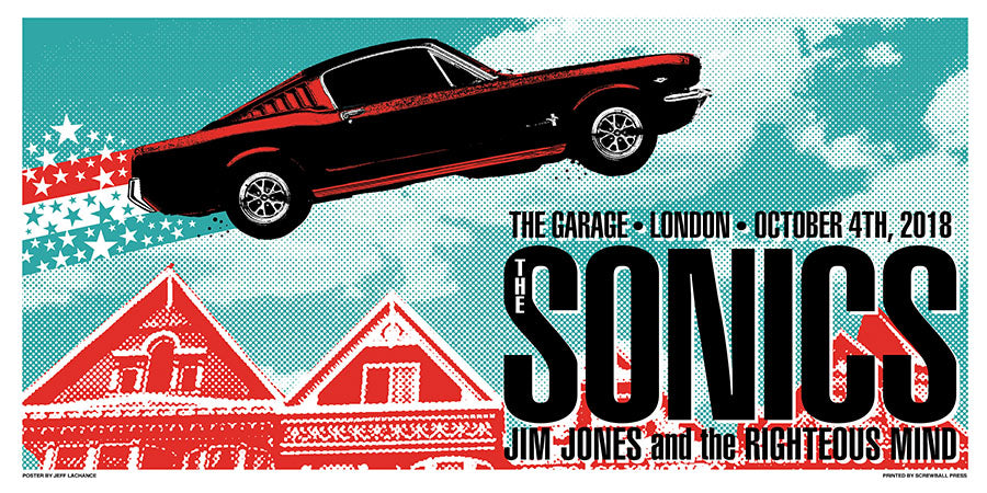THE SONICS - London 2018 by Jeff LaChance
