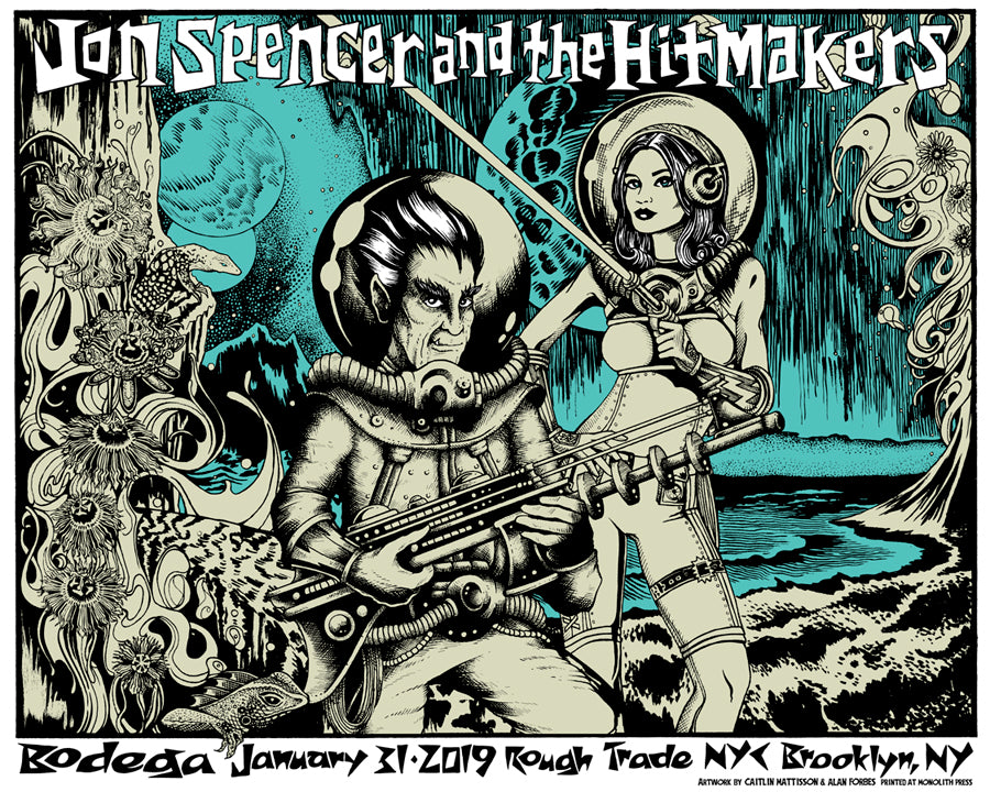 JON SPENCER & THE HITMAKERS - Brooklyn 2019 by Alan Forbes & Caitlin Mattisson
