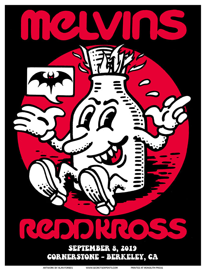 MELVINS / REDD KROSS - Berkeley 2019 by Alan Forbes