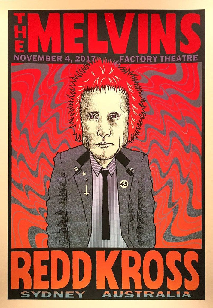 MELVINS / REDD KROSS - Sydney 2017 by Brian Methe