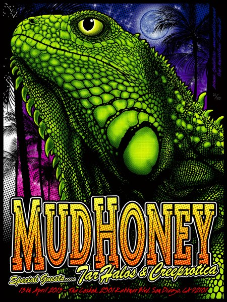 MUDHONEY - San Diego 2013 by Gumball