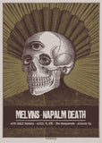 MELVINS / NAPALM DEATH - Atlanta 2016 by Error Design