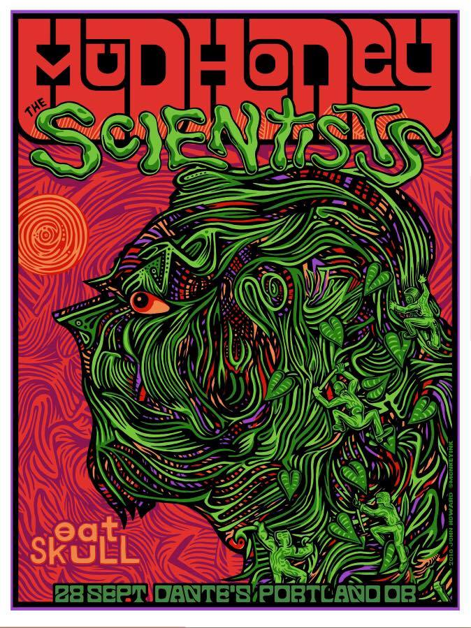 MUDHONEY / THE SCIENTISTS - Portland 2018 by John Howard