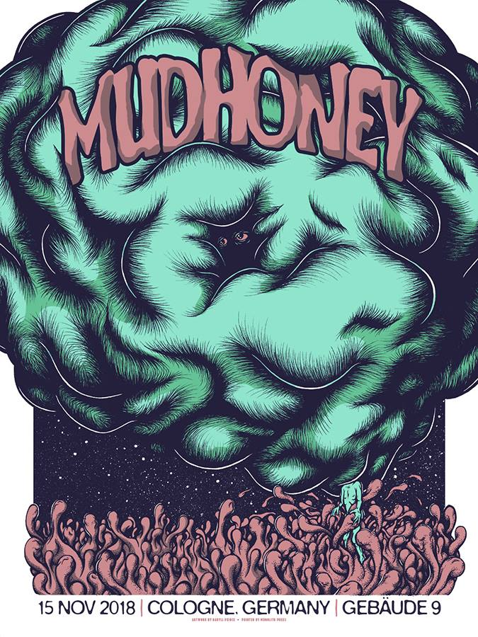 MUDHONEY - Cologne 2018 by Daryll Peirce