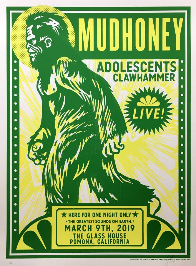 MUDHONEY / ADOLESCENTS - Pomona 2019 by Pete Cardoso