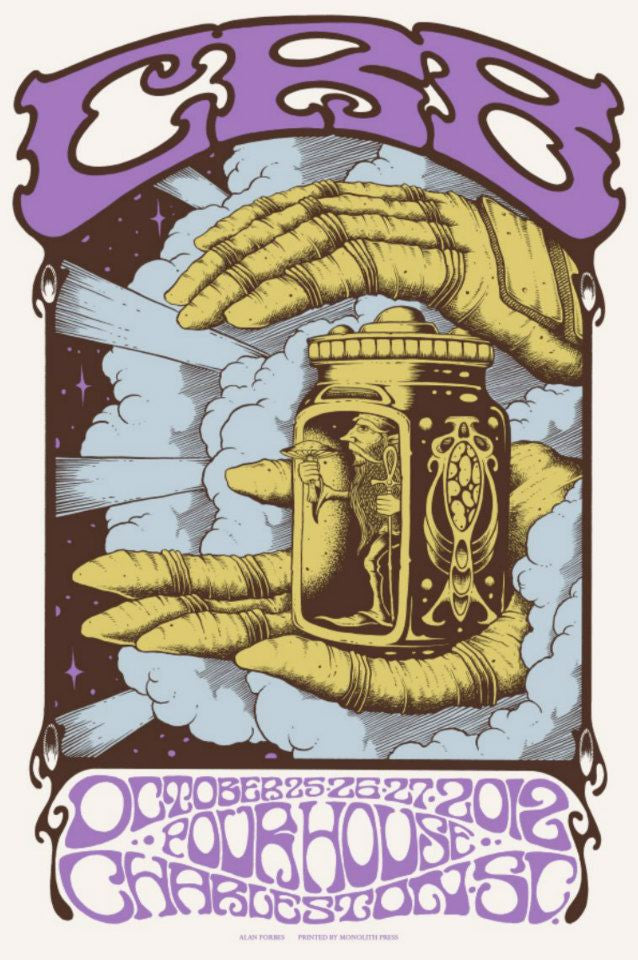 THE CHRIS ROBINSON BROTHERHOOD - Charleston 2012 by Alan Forbes