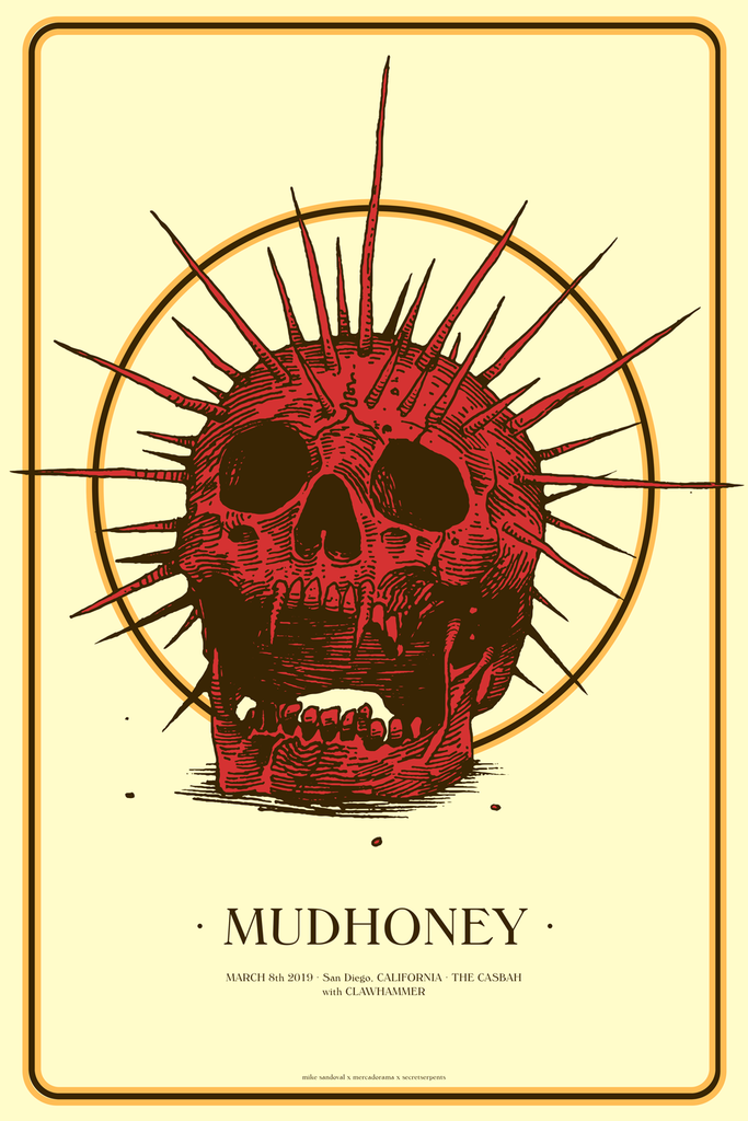 MUDHONEY - San Diego 2019 by Mike Sandoval