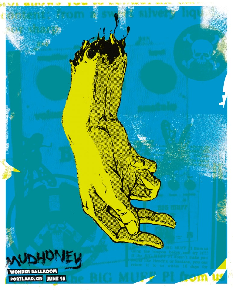 MUDHONEY - Portland 2019 by Droid Art