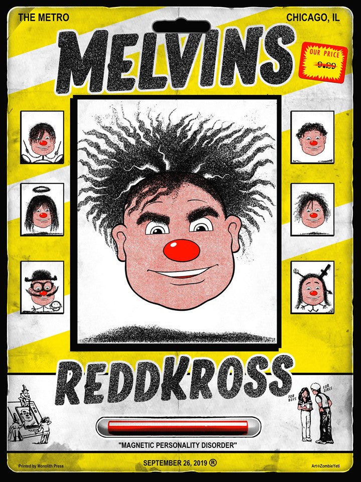 MELVINS / REDD KROSS - Chicago 2019 by Zombie Yeti