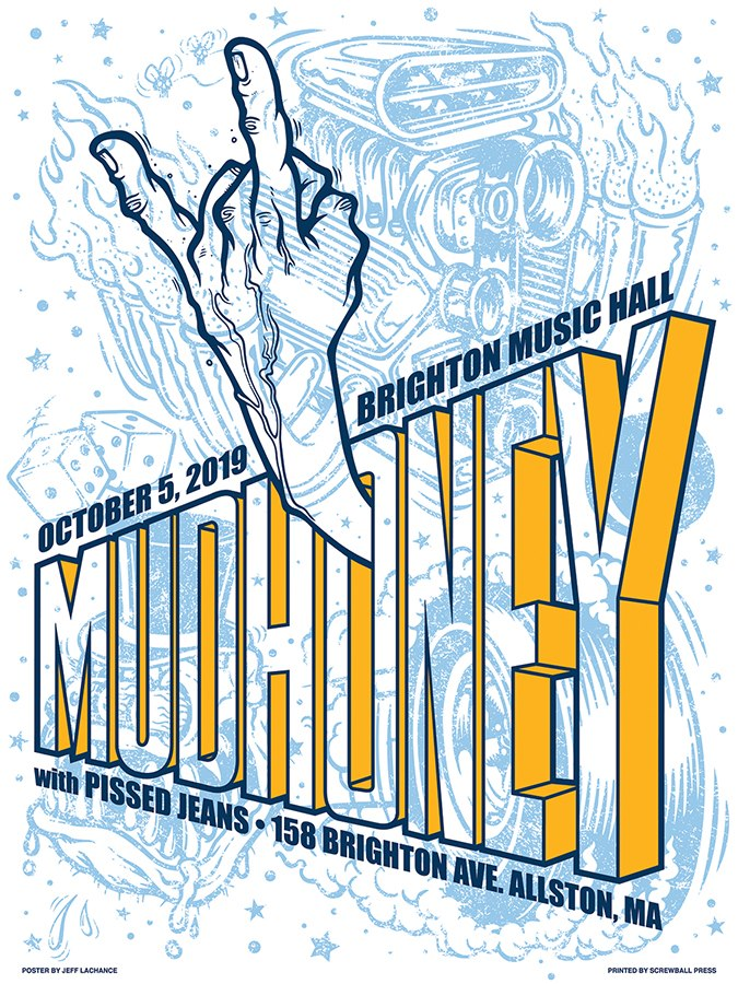 MUDHONEY / PISSED JEANS - Boston 2019 by Jeff LaChance