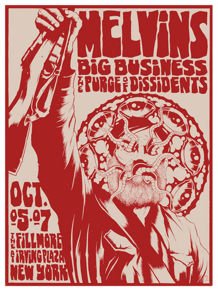 MELVINS - New York 2007 by Alan Forbes