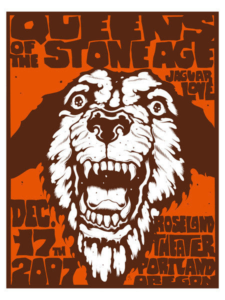 QUEENS OF THE STONE AGE - Portland 2007 by Alan Forbes