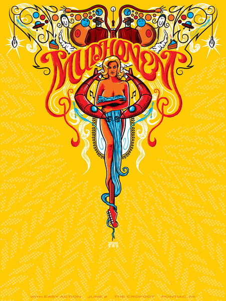 MUDHONEY - Pontiac 2008 by Mike Saputo