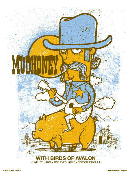 MUDHONEY - New Orleans 2008 by Jeff LaChance