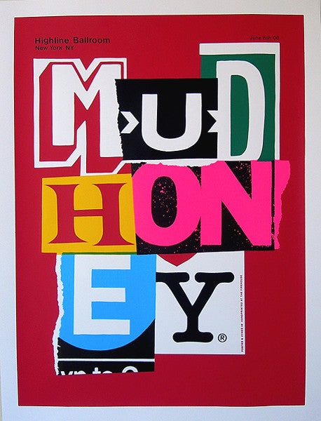MUDHONEY - New York 2008 by Alan Hynes