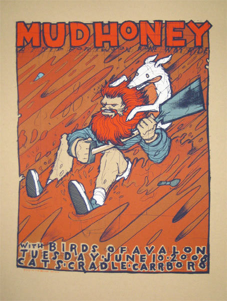 MUDHONEY - Carrboro 2008 by Jay Ryan