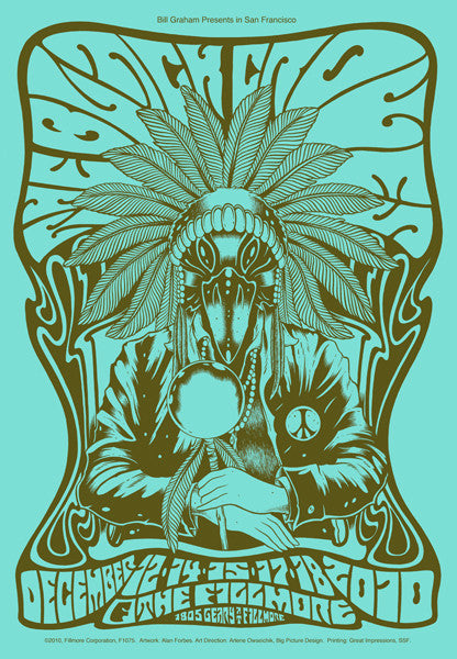 THE BLACK CROWES - San Francisco 2010 by Alan Forbes (night 1)
