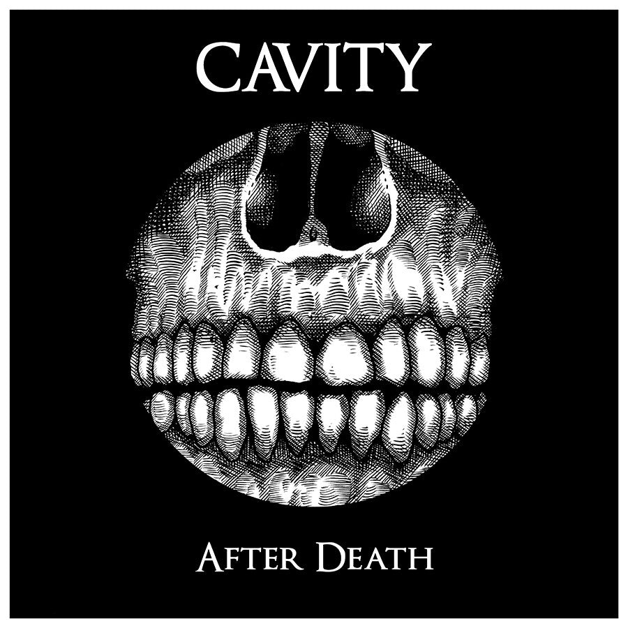 CAVITY - After Death download card +sticker