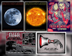 2015 FAITH NO MORE - (Not So) Mystery Tube #3 VERY FEW AVAILABLE