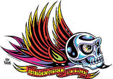 HOMEWARD BOUND - sticker by Alan Forbes