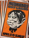 MUDHONEY - San Francisco 2013 by Alan Forbes (band signed)