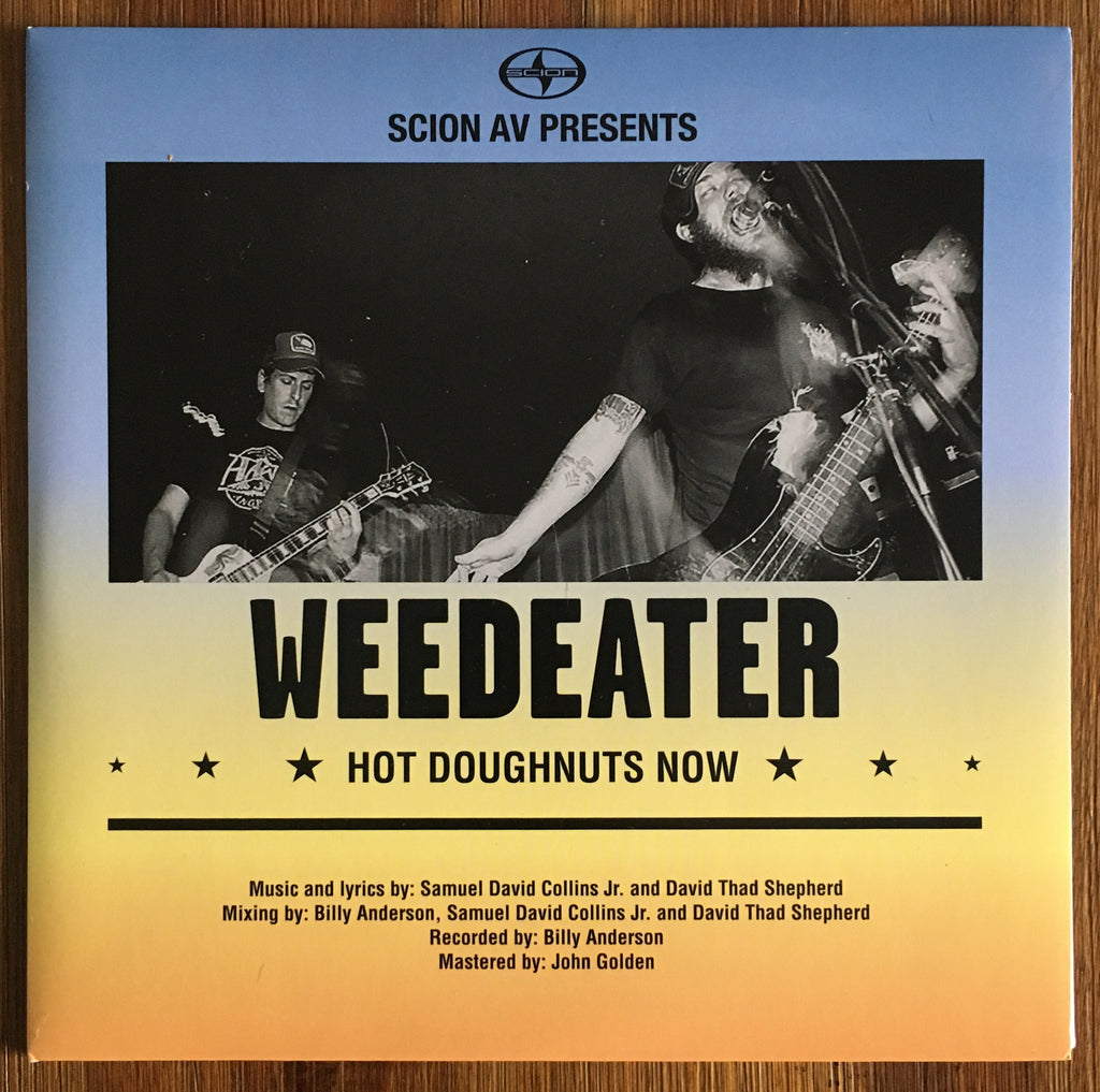 "WEEDEATER / PINS OF LIGHT split 7"" (red vinyl)"