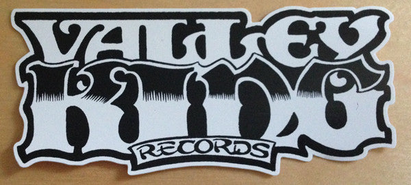 VALLEY KING RECORDS - sticker by Alan Forbes