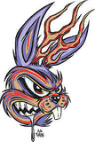 JACKALOPE - sticker by Alan Forbes