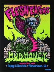 FLESH EATERS / MUDHONEY - Pioneertown 2019 by Dirty Donny - FLOCKED