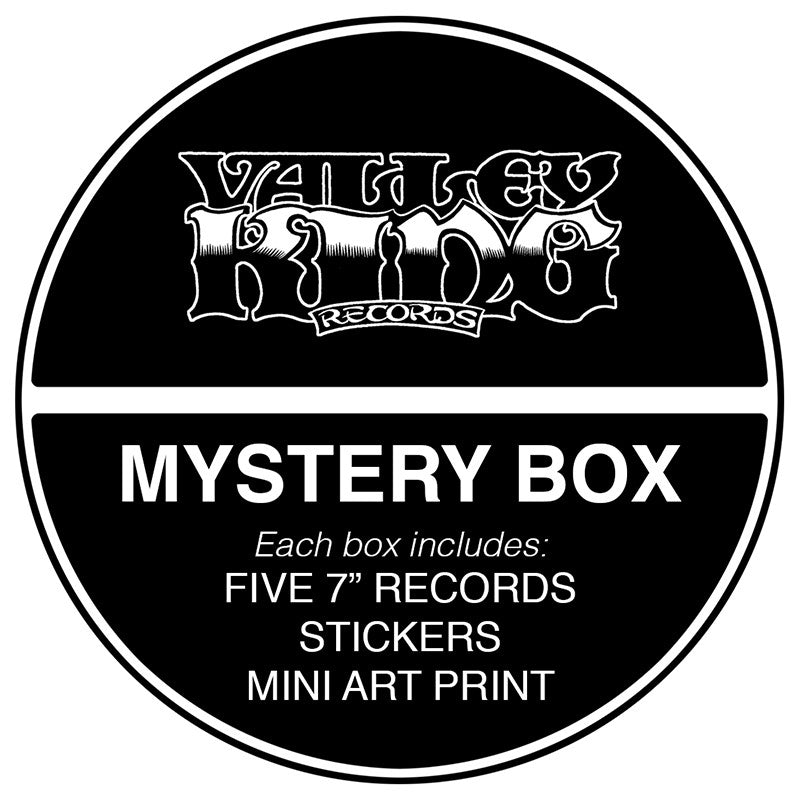 "VALLEY KING RECORDS - 7"" Mystery Box"