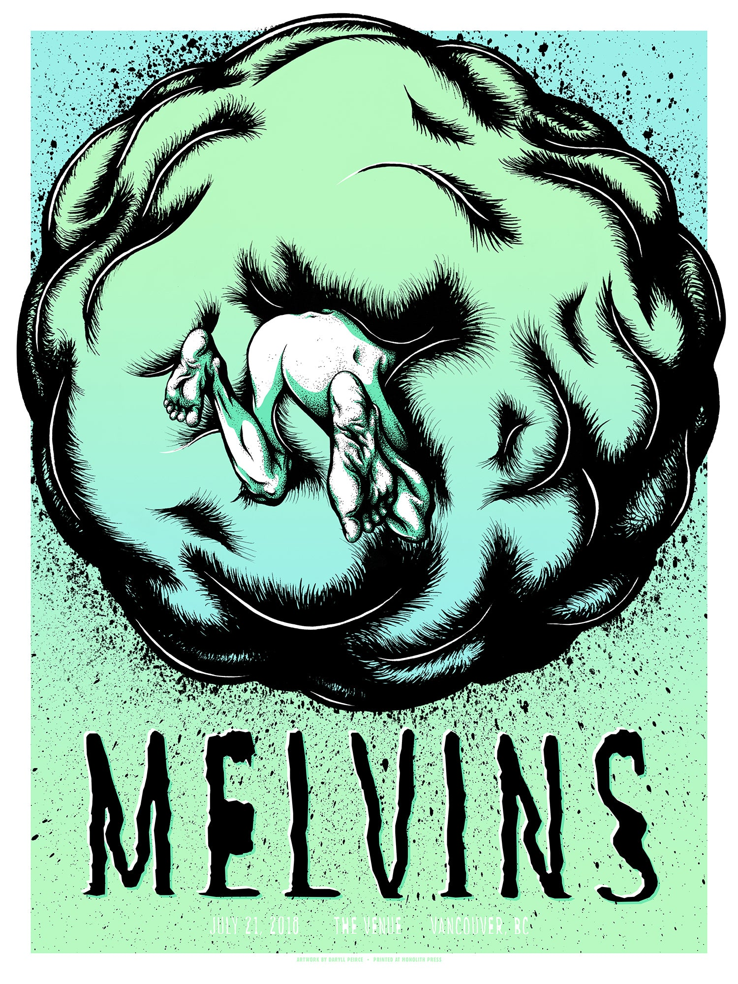 MELVINS - Vancouver 2018 by Daryll Peirce