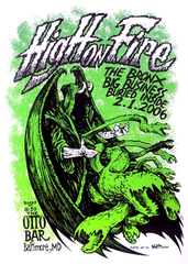 HIGH ON FIRE - Baltimore 2006 by David Witt