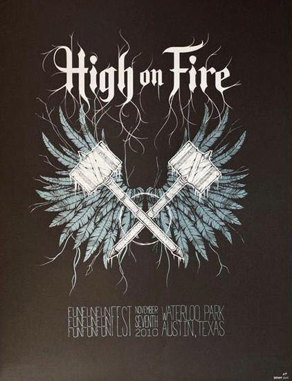 HIGH ON FIRE - Austin 2010 by Paul DeVay
