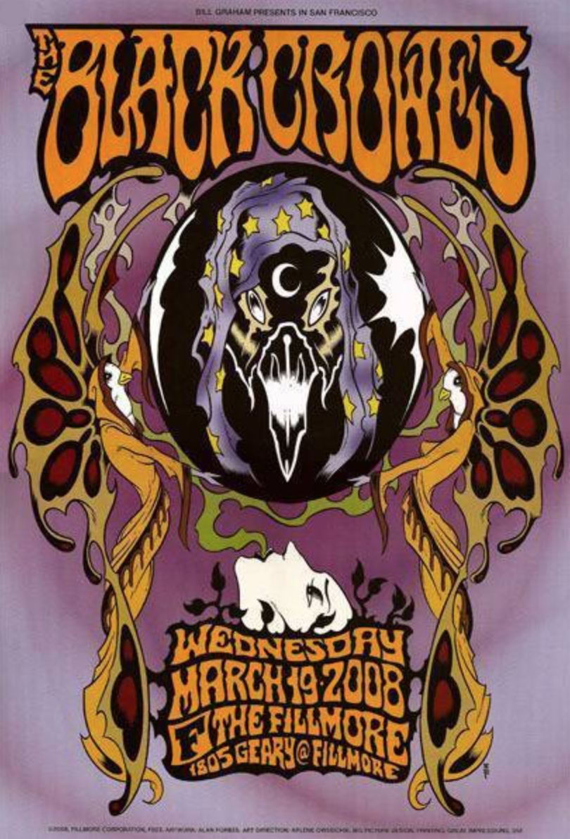 THE BLACK CROWES - San Francisco 2008 by Alan Forbes