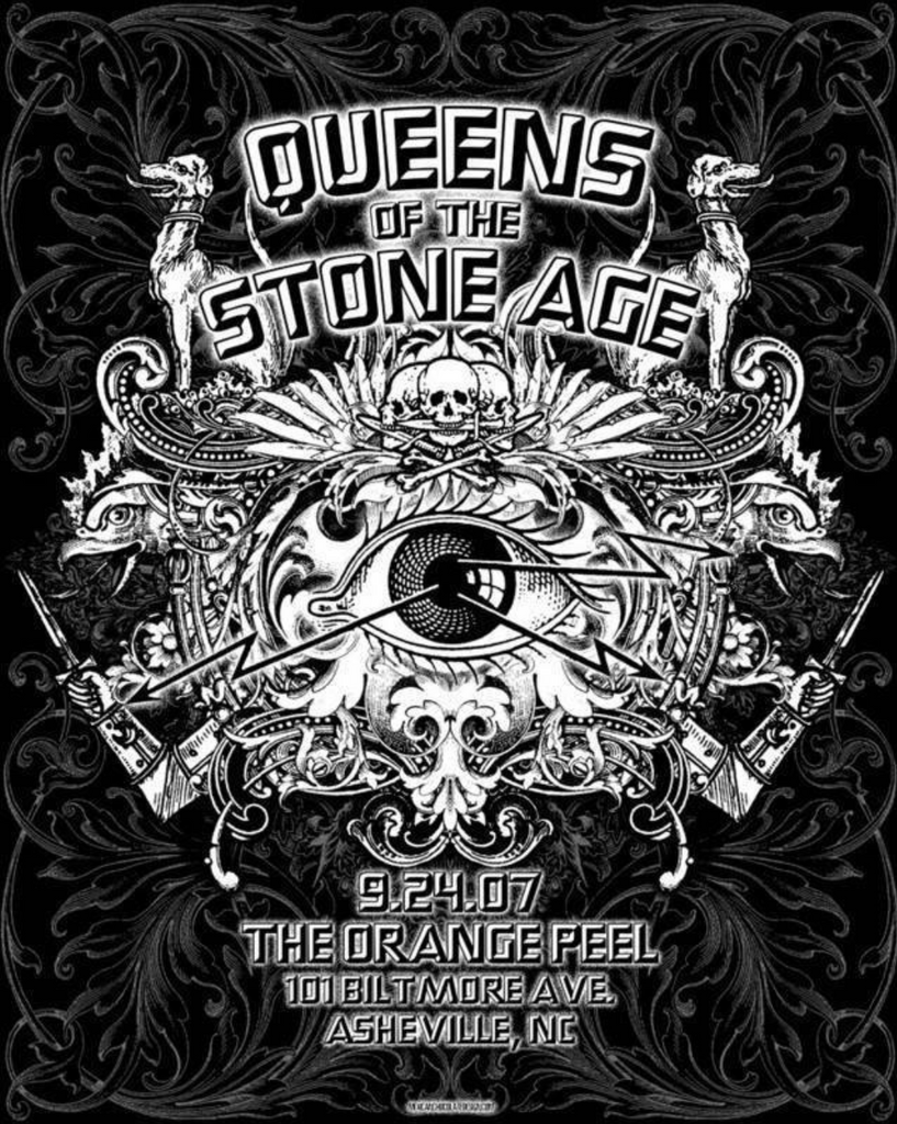 queens of the stone age asheville 2007 by jared connor last copy